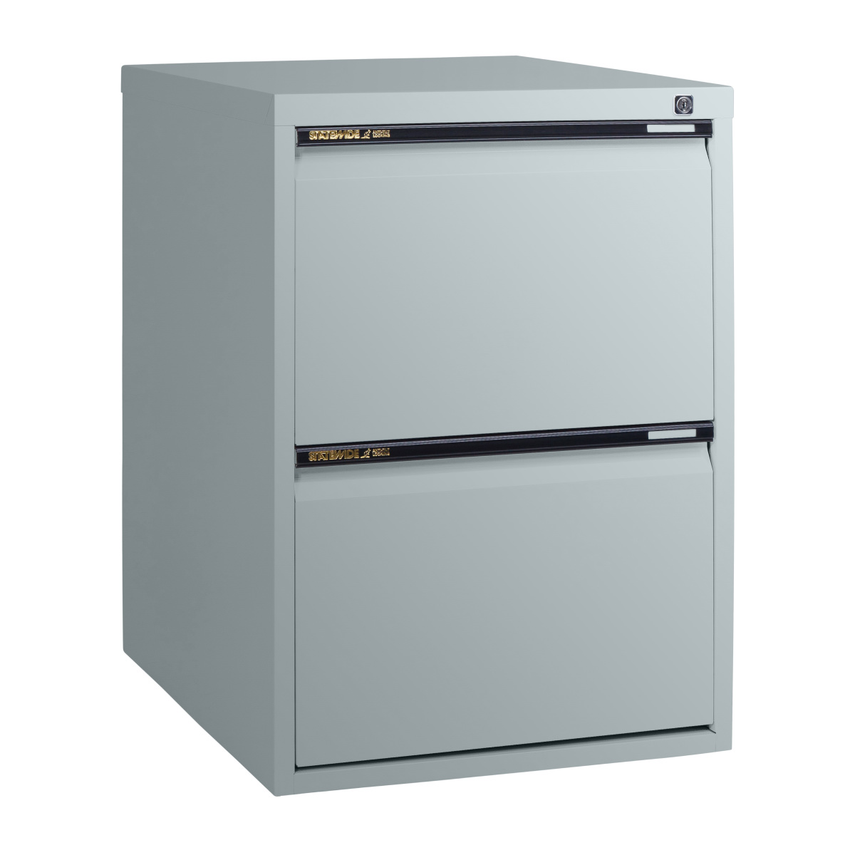 sw2 statewide 2 drawer filing cabinet light grey