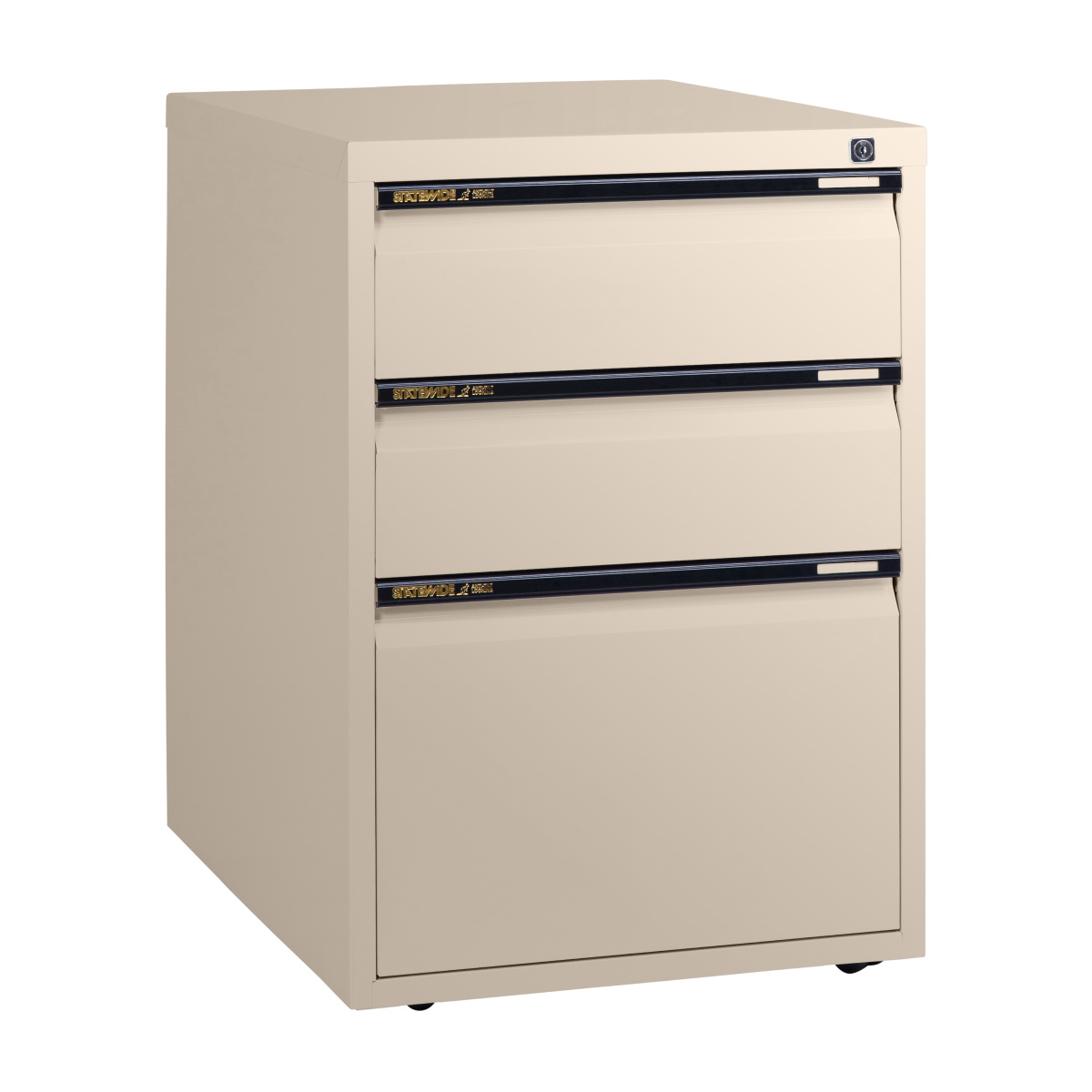 Low height filing personal drawers statewide office for Cabinet height