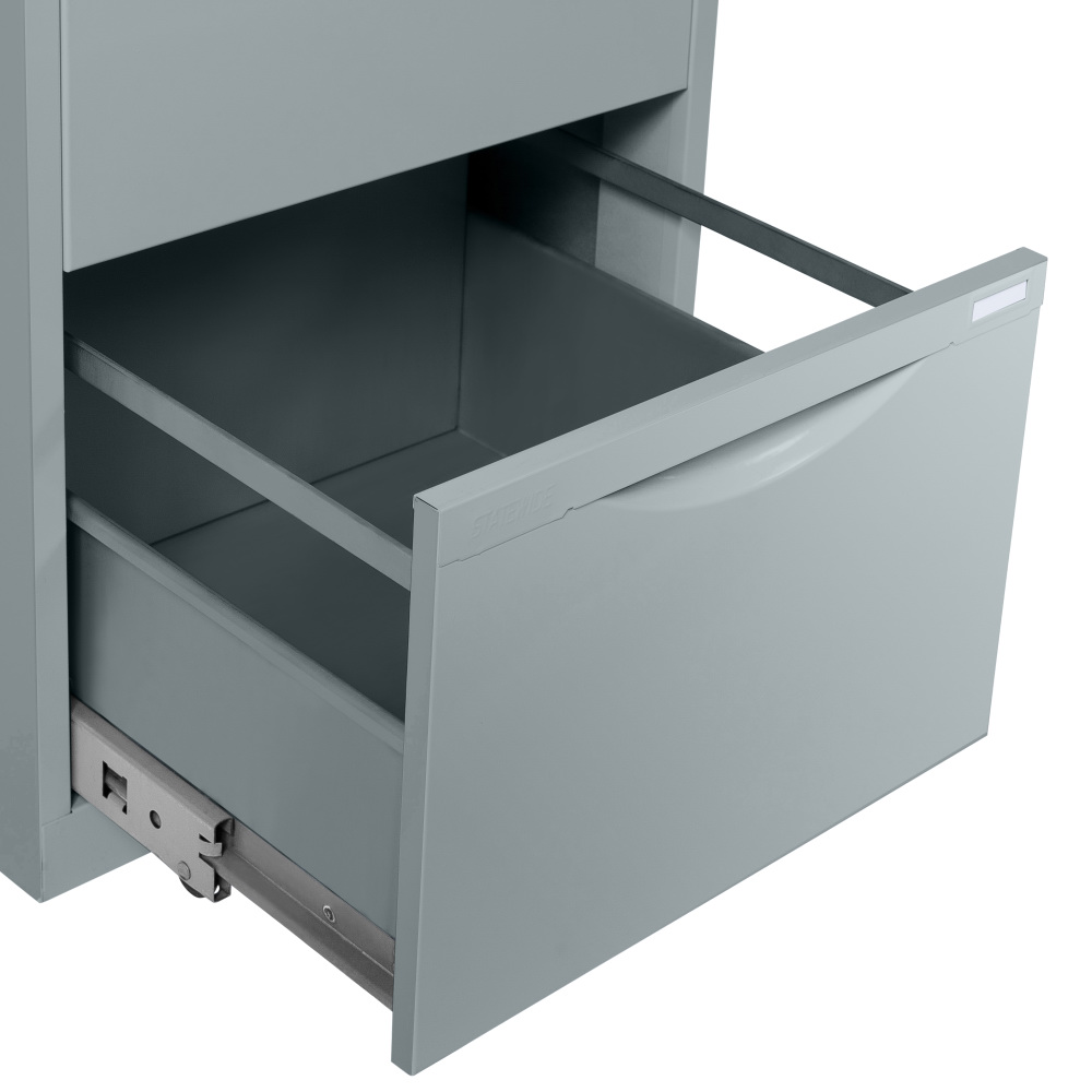 Statewide Filing Cabinet Open Drawer - Light Grey