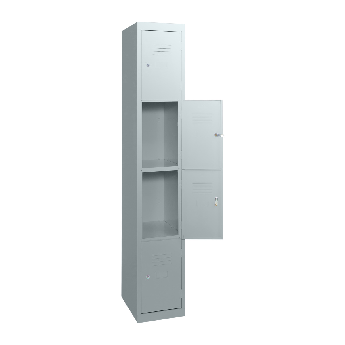 sl4-statewide-4-door-locker-open-light-grey