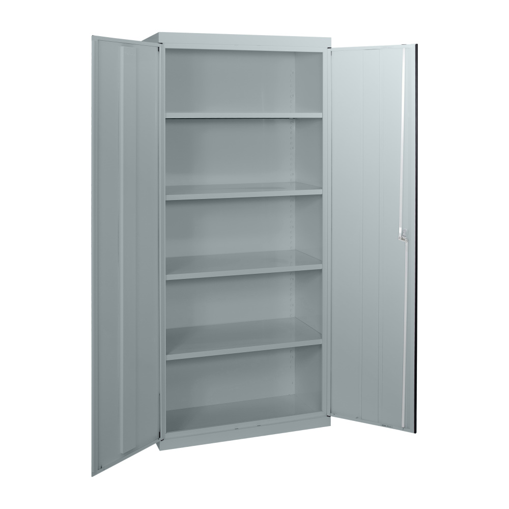 SWC66 - Statewide 2000H Deluxe Stationery Cupboard - Open - Light Grey