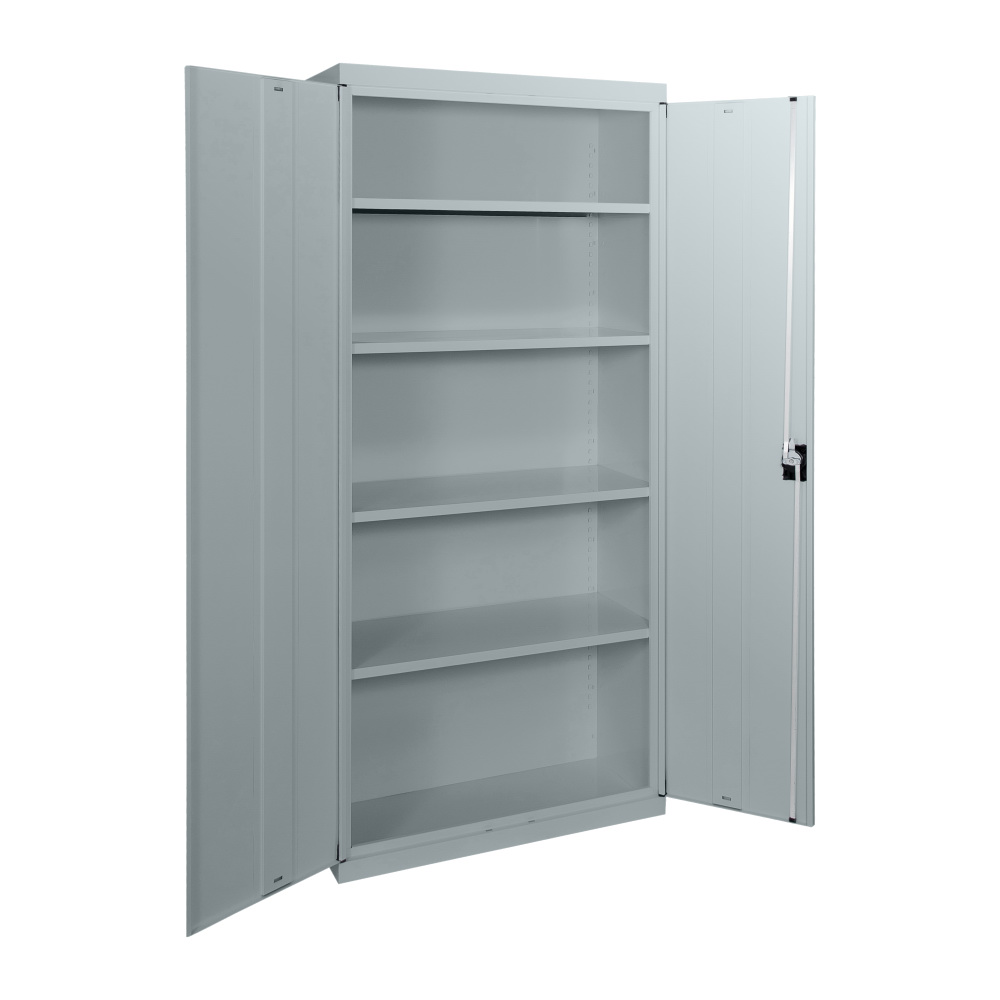 SWEC2000 - Statewide 2000H Economy Stationery Cupboard - Open - Light Grey