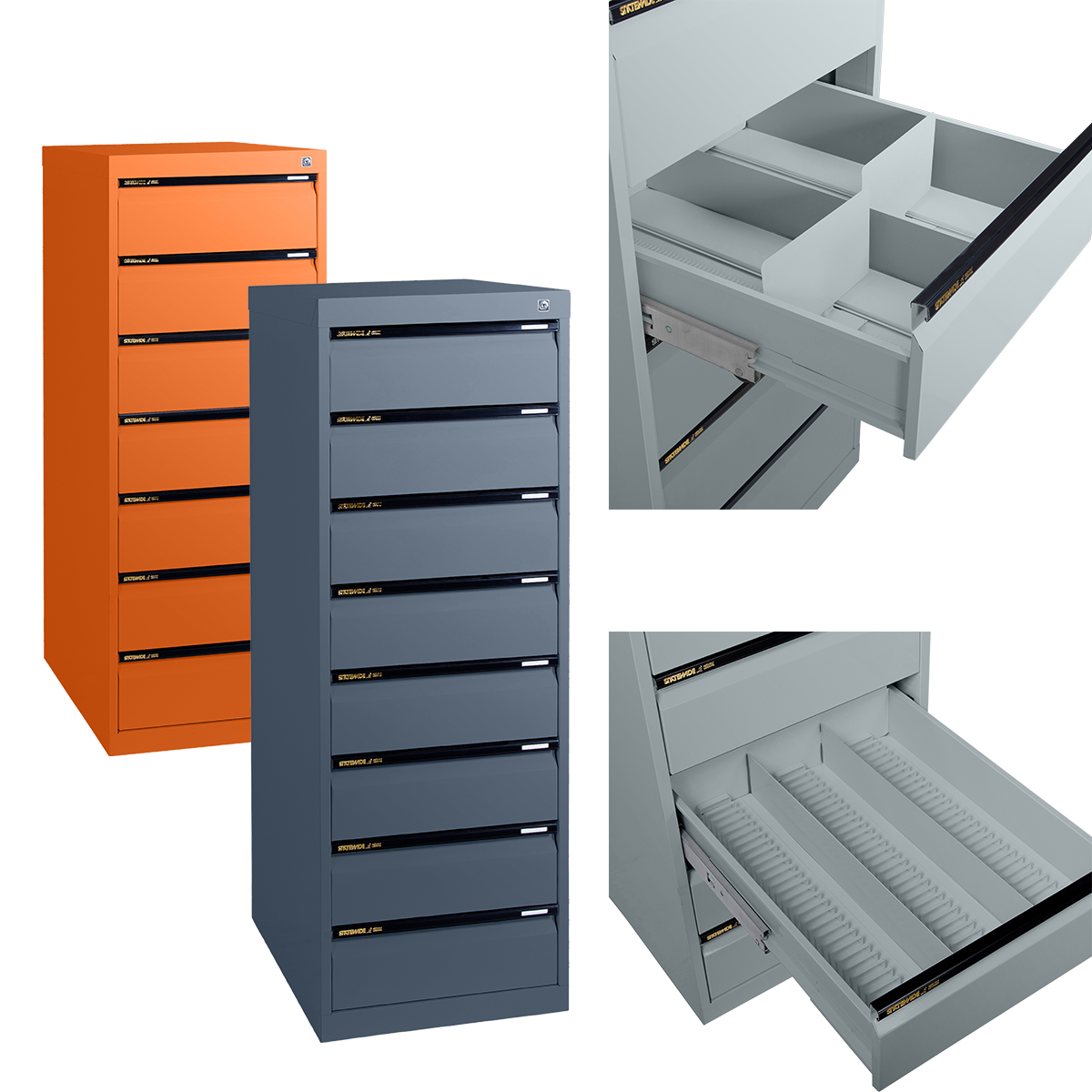 Pharmaceutical Prescription File Drawer Statewide Office