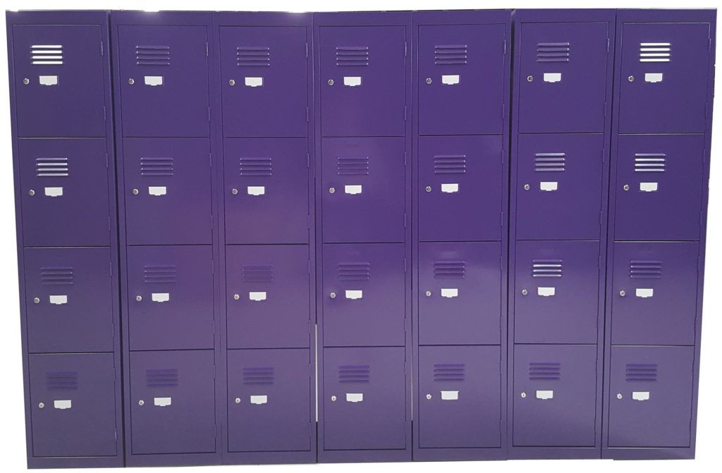 4 Door Lockers Custom Colour Purple