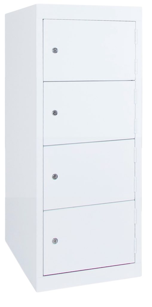 4 Door Half Height Locker