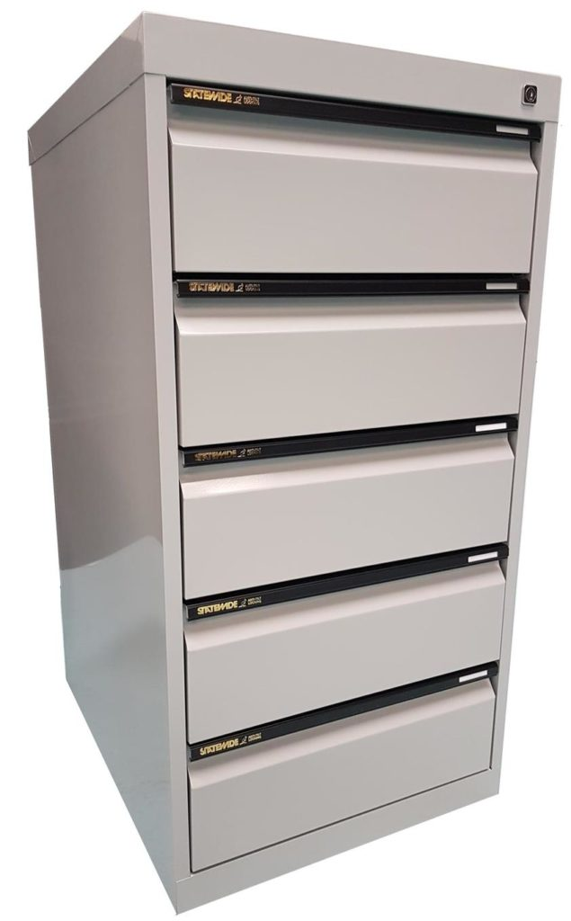 5 Drawer Card Cabinet