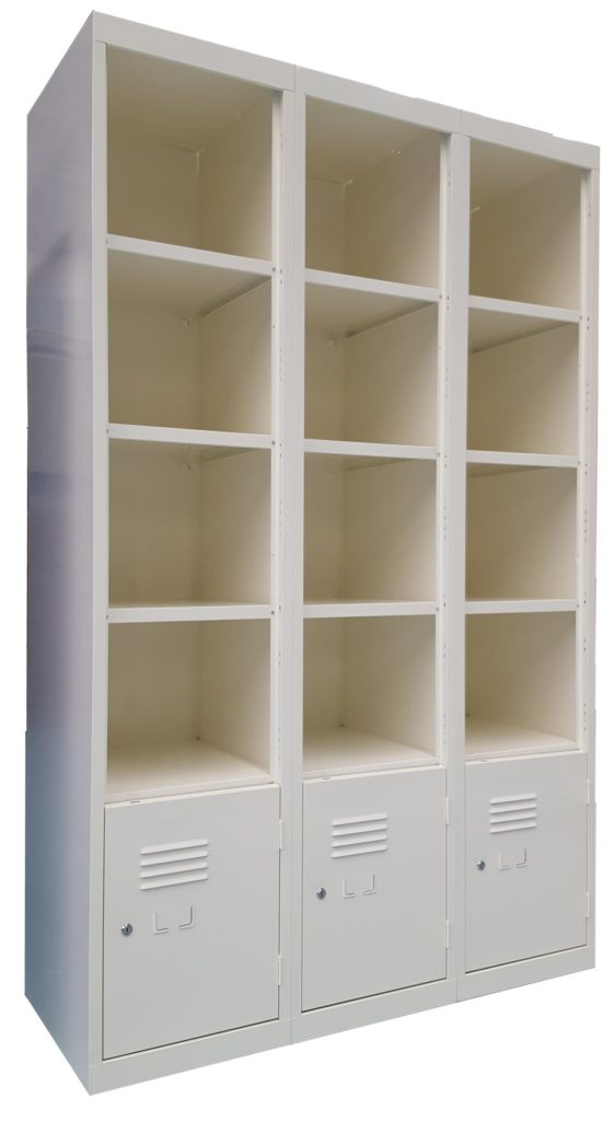 Mixed-Open-Faced-and-Lockable-Door-Locker-Bank-White-Birch-side