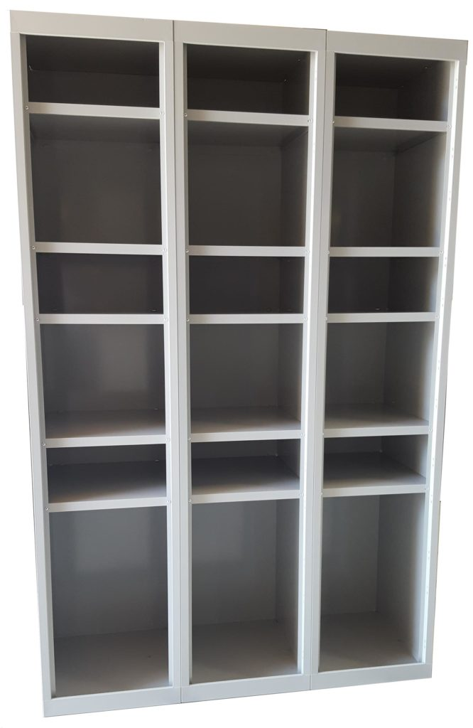 Cubby Hole Open Faced Shelves