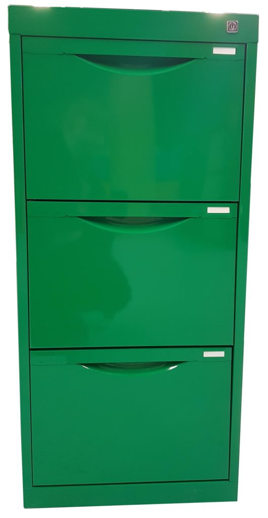 Green Homefile Filing Cabinet