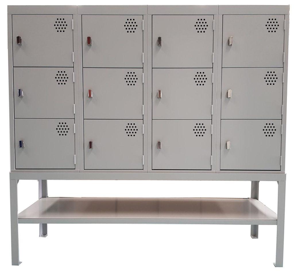 Book Locker with stand and under-locker shelf