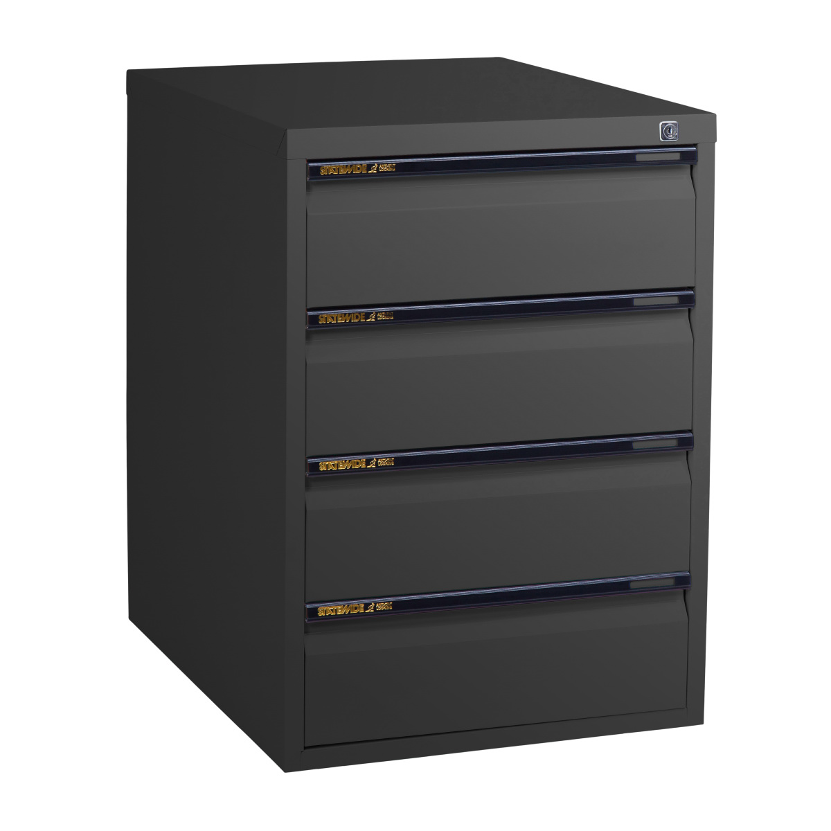 low height cabinet four personal drawers statewide office furniture. Black Bedroom Furniture Sets. Home Design Ideas